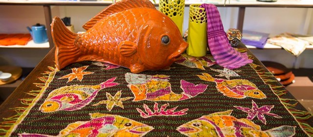 Tropical Fish Kantha