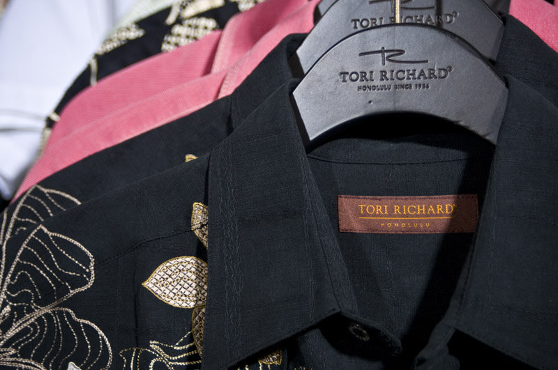 Tori Richards Honolulu shirts.