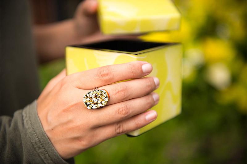 Emily Amey Druzy Ring