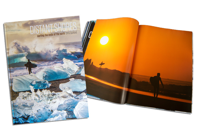 Cover and Inside look at Distant Shores Book