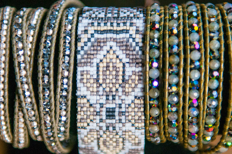 Chan Lu Beaded Cuff and wrap bracelets