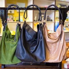 Three Henri Lou Handbags