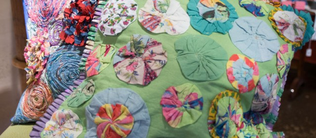Handprint Pillows