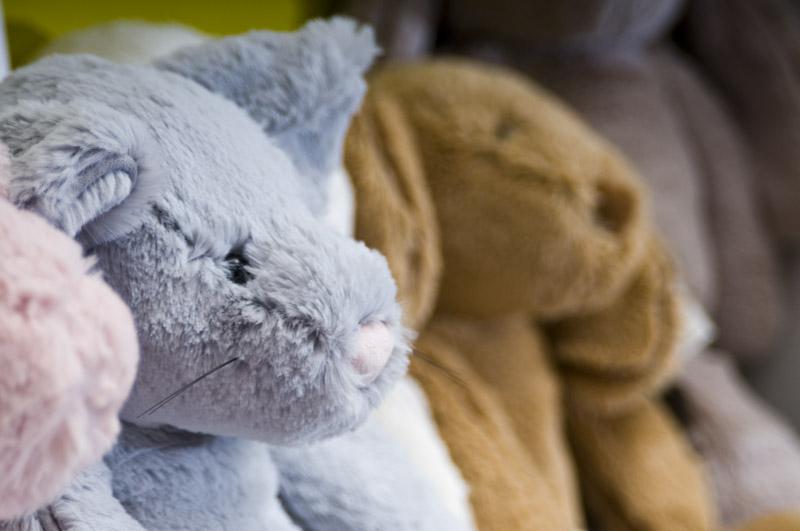 Stuffed Animal Face Detail