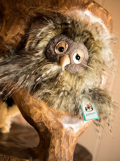 Jellycat Orlando Owl Stuffed Toy