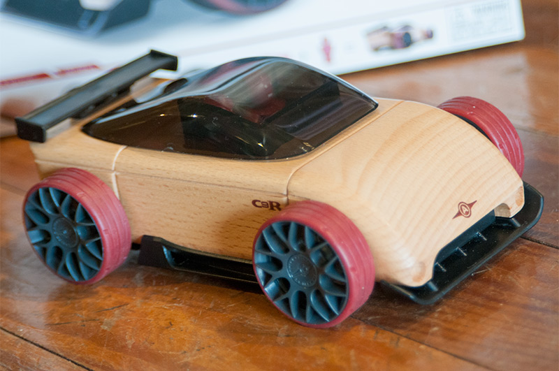 Automoblox wooden toy car.